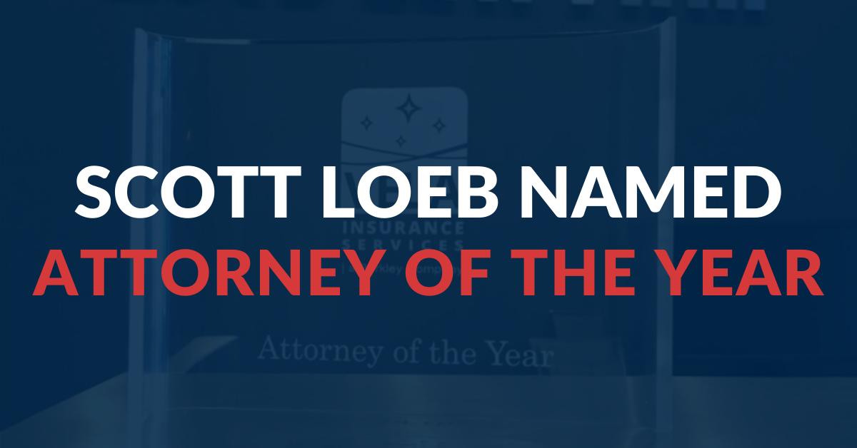 Scott Loeb Vela Attorney of the Year Award